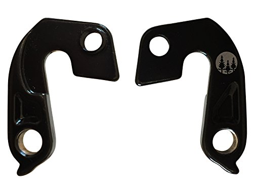 Set of 2 Specialized Derailleur Hanger 65 with mounting bolts for Stumpjumper Hotrock Hardrock S-works Specialized Part # 9895-4021 (Hanger Specialized Derailleur)