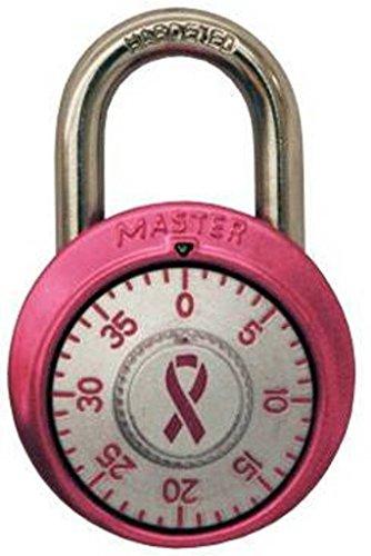 - ALTON Lock Padlock, Standard Dial Combination Lock, 1-7/8 in. Wide,RED