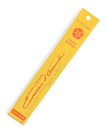 Maroma EDA Incense, Orange Blossom, 10 Count