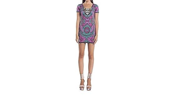 Custo Barcelona - Vestido - ajustado - para mujer Multicolor 38: Amazon.es: Ropa y accesorios