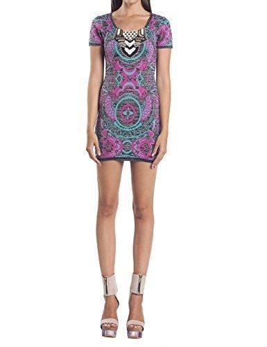 Custo Barcelona - Vestido - ajustado - para mujer Multicolor 38