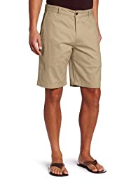 Dockers Men\'s Classic-Fit Perfect-Short - 38W - New British Khaki (Cotton)