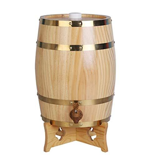 15L Beer barrel tap,wooden barrel,wine barrel,whiskey barrel,Beer Keg Appliances,Beer Keg Dispensersoak barrel,beverage dispenser,whiskey,aging barrel,barrel,wine,beer Bac bac (Color : C) ()