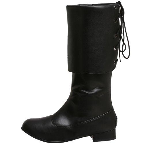 Stivali Stivali Nero Nero 100 Pirate di Uomo Pleaser Uq6OxY