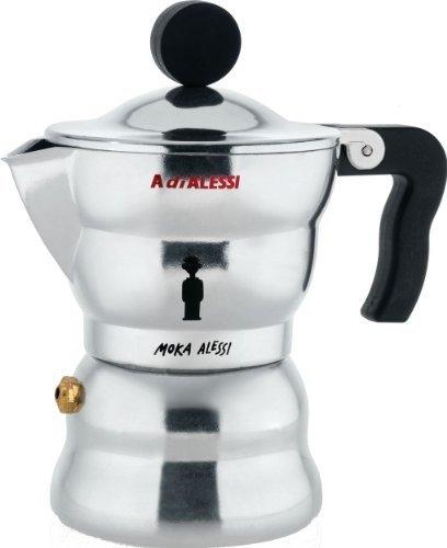Moka Alessi Espresso Coffee Maker, 1 cup by Alessi