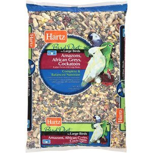 Hartz Parrot Diet, 8 LB (Pack of 4) by HARTZ