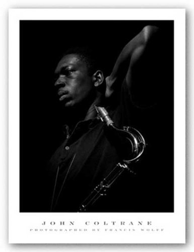 "Bruce Teleky John Coltrane by Francis Wolff 23.5""x31.5"" Art Print Poster from Bruce Teleky"