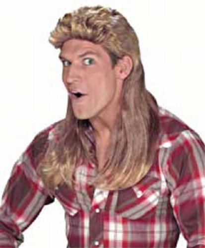 [Super Mullet Wig Costume Accessory] (Mullet Costumes Wig)