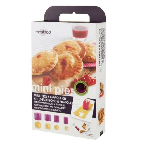 Mastrad A26360 Mini Pies and Ravioli Kit, Purple by Mastrad
