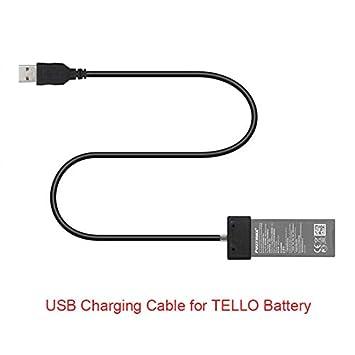 Amazon.com: Tello Cargador USB Cable Lline Power Bank Puerto ...