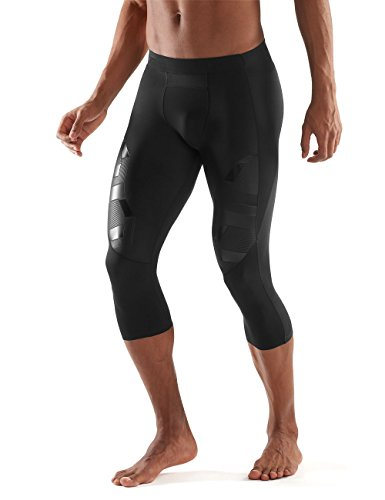 Skins Men's A400 Compression 3/4 Tights, Oblique, Small by Skins (Image #3)