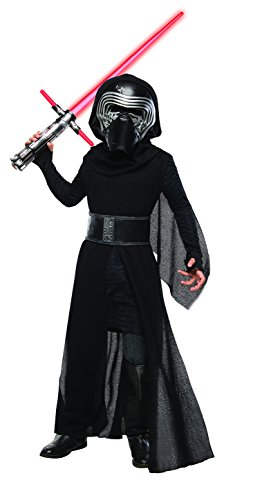 Rubies Kylo Ren Costume (Rubie's Costume Star Wars Episode VII: The Force Awakens Deluxe Kylo Ren Child Costume, Medium)