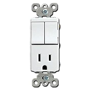 Amazon.com: Pass & Seymour Decorator 2 Single Pole Switch with ...