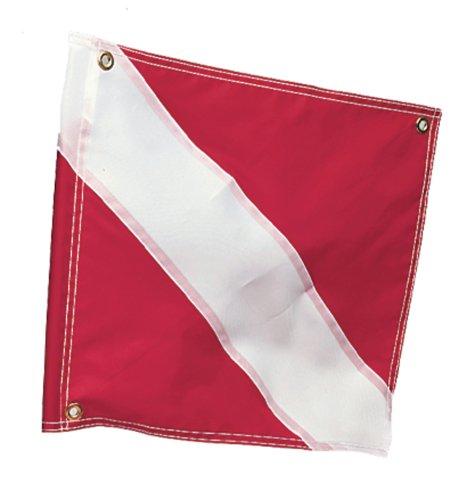 """Diver Down Flag, 20"""" x 24"""", Stiffener"""
