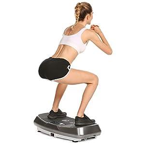 Profun Plateforme Vibrante Fitness Plaque de Vibration Technologie de Vibration 3D Rocker pour Mise en Forme du Corps A…