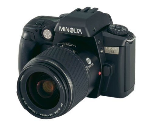Konica Minolta Maxxum 70 35mm SLR Camera with 28-100mm Lens