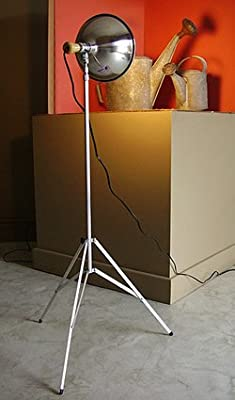Metal Studio Lamp with Telescopic Stand