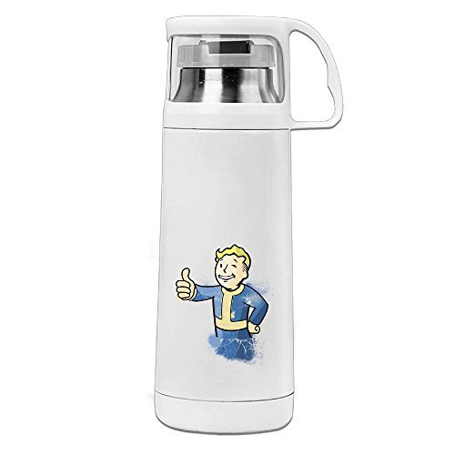 POY-SAIN Fallout Boy Funny Sport Water Bottle With Handle Vacuum Cup