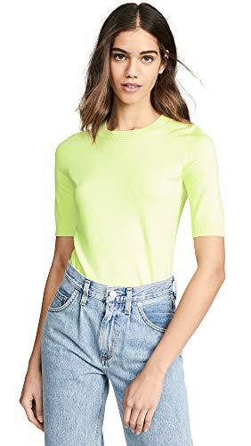 525 America Women's 3/4 Sleeve Tee, Citrus Green, X-Small