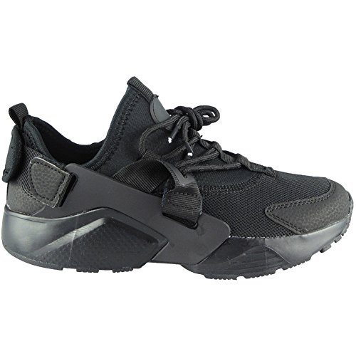 Size Running Womens Sports Fitness 8 Ladies Lace Loud Shoes Gym Black Look Trainers All Comfy 3 up Flat tfO5FwqFP
