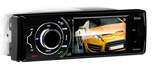 BOSS AUDIO BV7943 Single-DIN 3.6 inch Touchscreen DVD Player