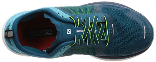 Women's Max 000 Ra Shoes W Road Safety Lagoon Yel Sonic Deep Blue Curacao Blue Running Salomon fCqtwdf