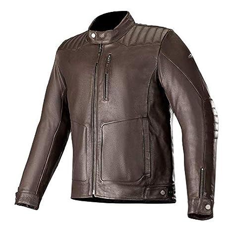 Alpinestars Motorcycle jackets Crazy Eight Leather Jackand Black