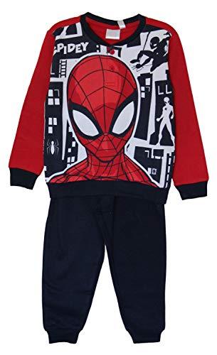 Marvel Spider-Man, Spidey katoenen pyjama-overhemdset, pyjama met omgeslagen mouwen, lange mouwen, loungewear voor…