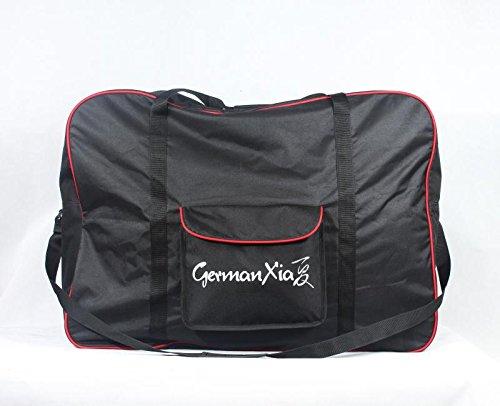 GermanXia Premium Faltrad-Transporttasche für 16'-24' Rad, Maße 87 x 35 x 64 cm, Markenqualität