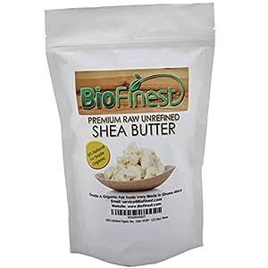 BioFinest Organic Shea Butter, 1 lb (16 oz)