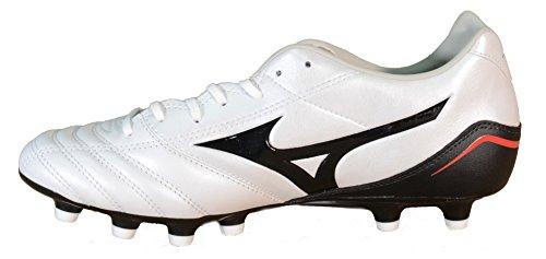 Mizuno Zapatillas Fútbol Neo Zen MD para hombre Negro blanco