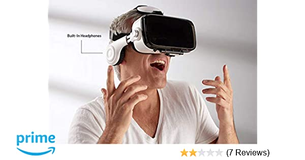 Amazoncom Sharper Image Bluetooth Vr Headset With Earphones Home