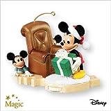 Hide 'n' Peek Mickey Mouse 2007 Hallmark Christmas Ornament QXD4209