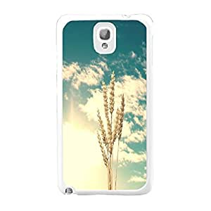 Hard Protective Snap on Case Cover Beautiful Nature Landscape Design Samsung Galaxy Note 3 N9005 Hard Shell for Girls (BY232: sky clouds plant)