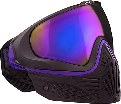 Virtue VIO Extend Thermal Paintball Goggles / Masks - Black Amethyst by Virtue Paintball