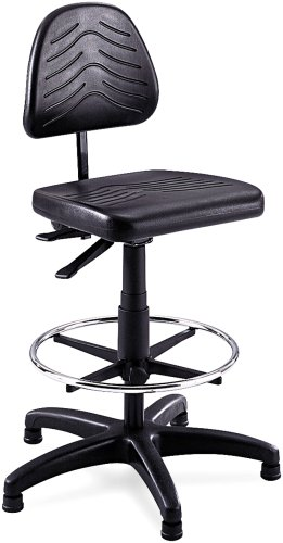 Sold Separately Bench (Safco Products 5113 Task Master Deluxe Workbench Chair (Additional options sold separately), Black)