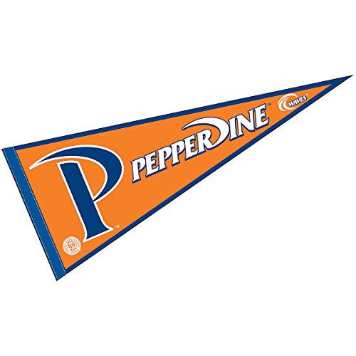 (College Flags and Banners Co. Pepperdine University Pennant Full Size Felt)