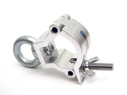 Global Truss Jr Eye Clamp, Medium Duty Wrap Around w/Eyebolt for F23/F24 (Duty Bolt)