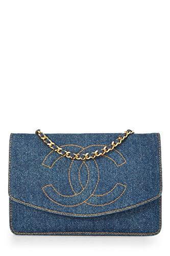 Blue Chanel Handbag - 6