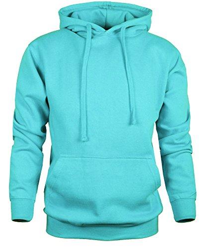 - Guytalk Men's Thick Fabric Pullover Hoodie Sweatshirt Medium Aqua