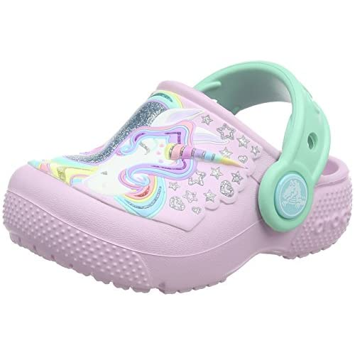 chollos oferta descuentos barato Crocs Fun Lab Clog K Zuecos Unisex Niños Rosa Ballerina Pink New Mint 32 33 EU