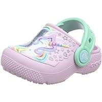Crocs Kids' Girls Sparkle Unicorn Clog