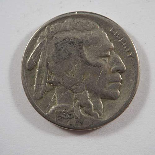 1935 S Buffalo Nickel Nickels - Nickels Buffalo Grading