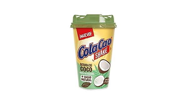 Cola Cao Shake Bebida de Coco + Cacao Natural 100% vegetal ...