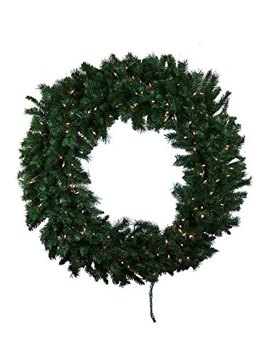 Wreaths 48 inch Pre Lighted Princess Pine Mixed Needle Large [16156B]