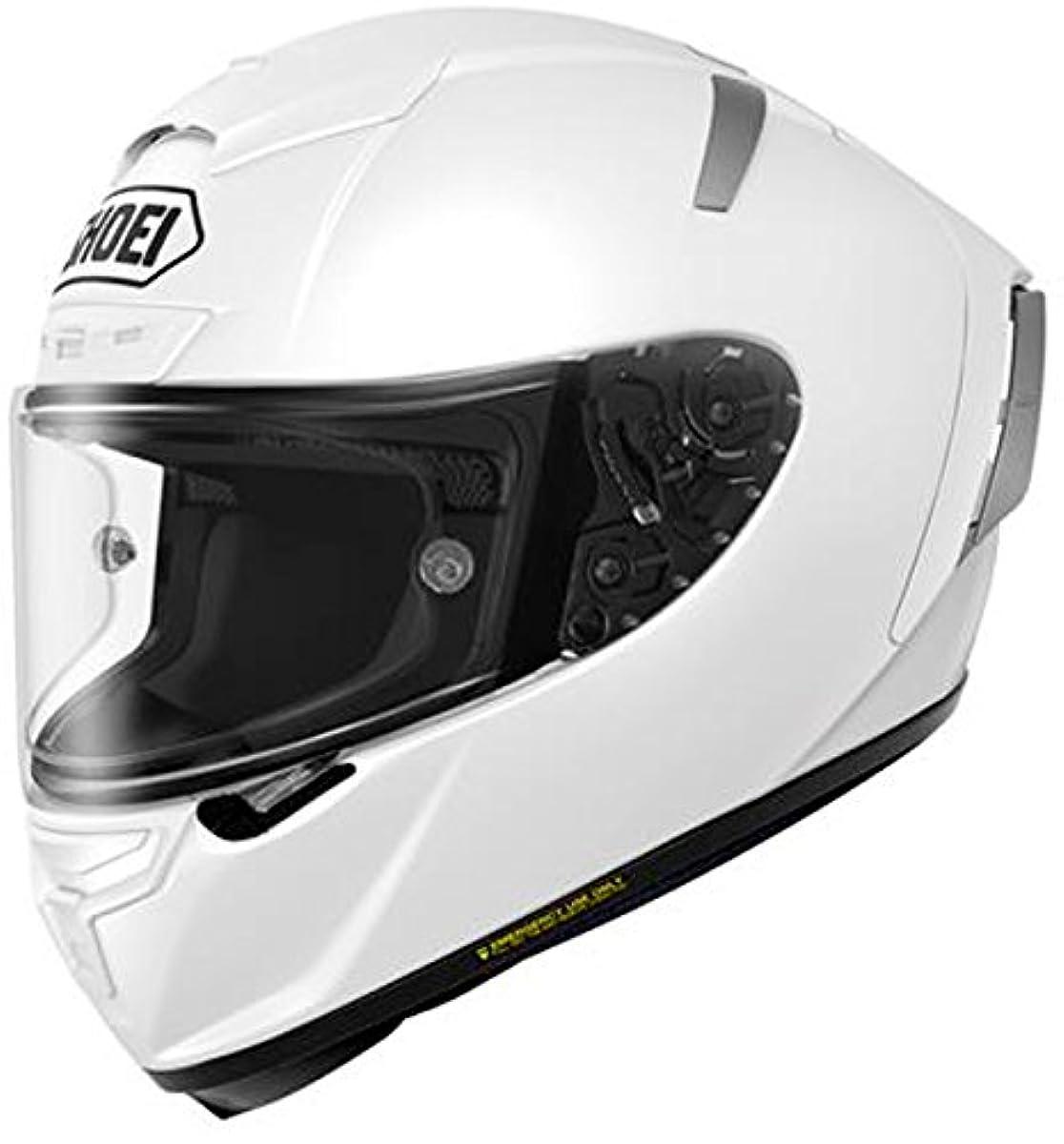[해외] 쇼에이 오토바이 헬멧 풀 페이스 ~ X-FOURTEEN 화이트 M 머리위 57CM~58CM