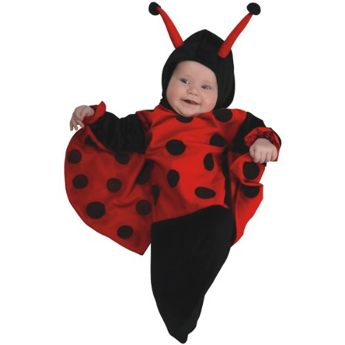 Rubie's Costume Deluxe Baby Bunting, Lady Bug Costume, 0 to 9 Months