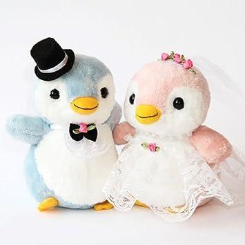 ウェルカムドール 結婚式ぬいぐるみ パステルペンちゃん ペンギンのウェルカムドール