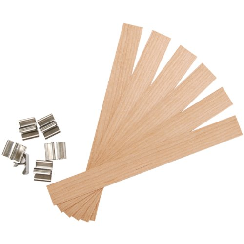 Yaley Earth Wick Keeper 6/Pkg-Wood Extra Large .625