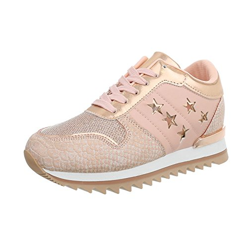 Espadrilles design Mode High Altrosa Ital Chaussures Baskets G Femme 127 Compensé Sneakers R0gH4qwg